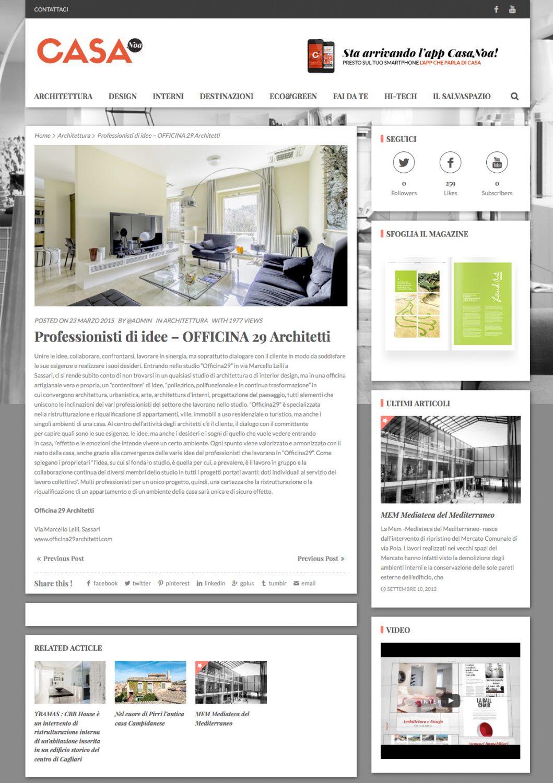 Casanoa - Rivista di architettura