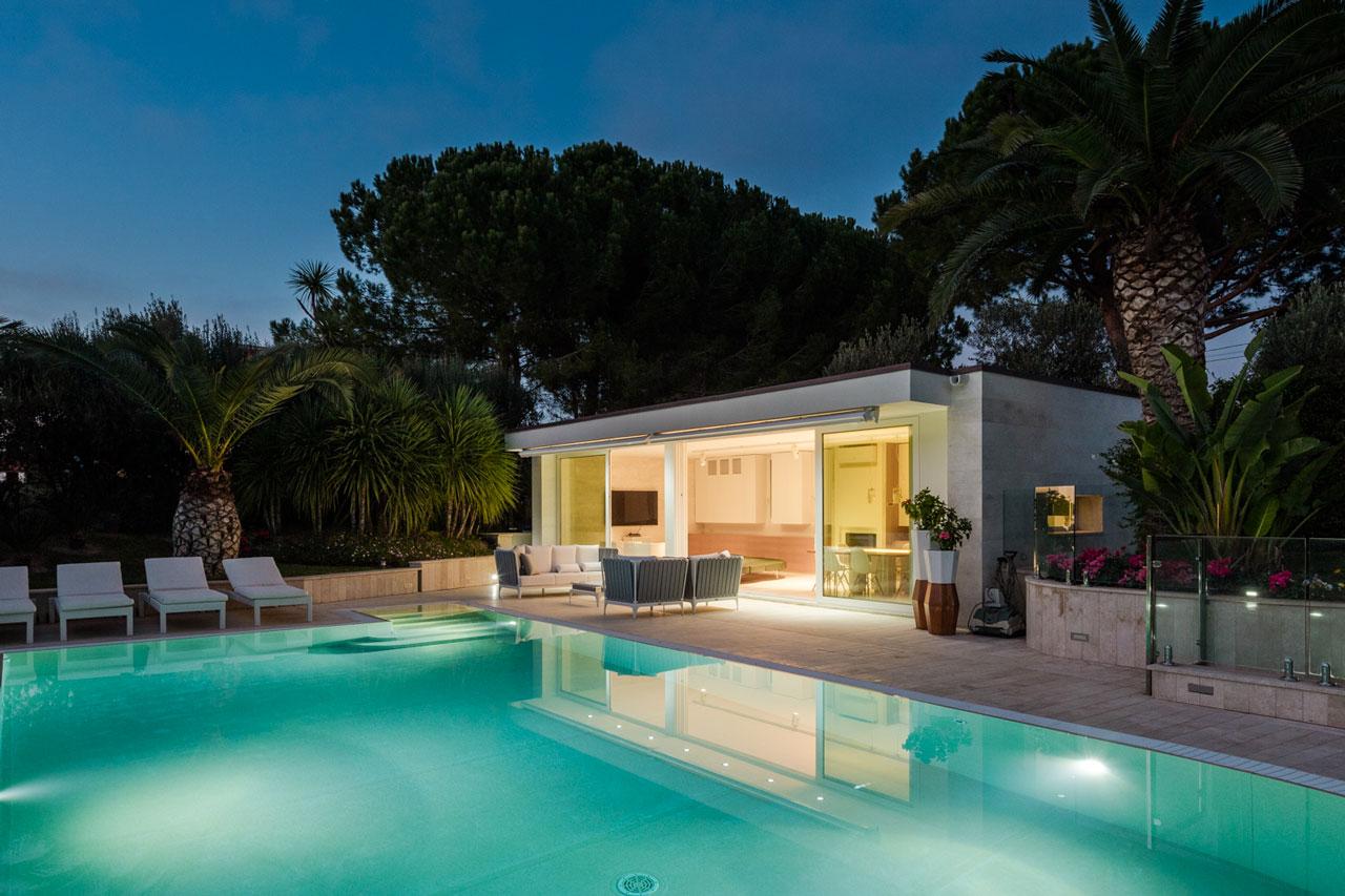 Countryside villa officina29 architetti - Progetto villa con piscina ...