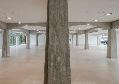 Dettaglio pilastro in calcestruzzo armato