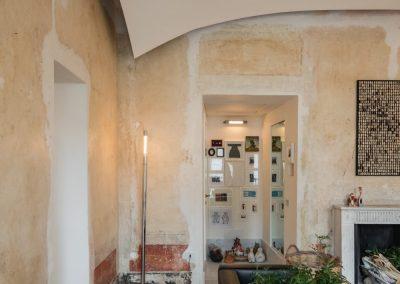 Appartamento ottocentesco Sassari, salotto