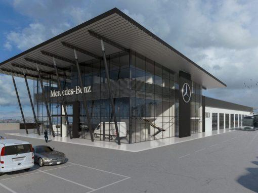 Showroom Mercedes-Benz – Cagliari