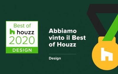 Officina29 Architetti vince il Best o Houzz 2020