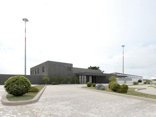 New Terminal GAT2, Olbia-Costa Smeralda Airport